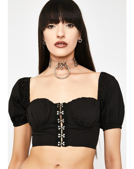 All Hooked Up Crop Top
