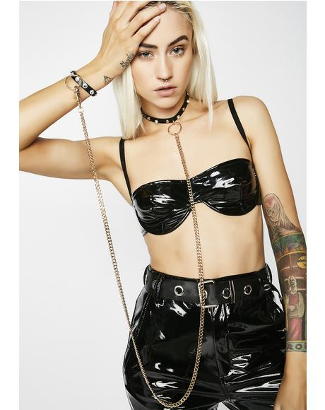 Lock Me Up Bondage Choker