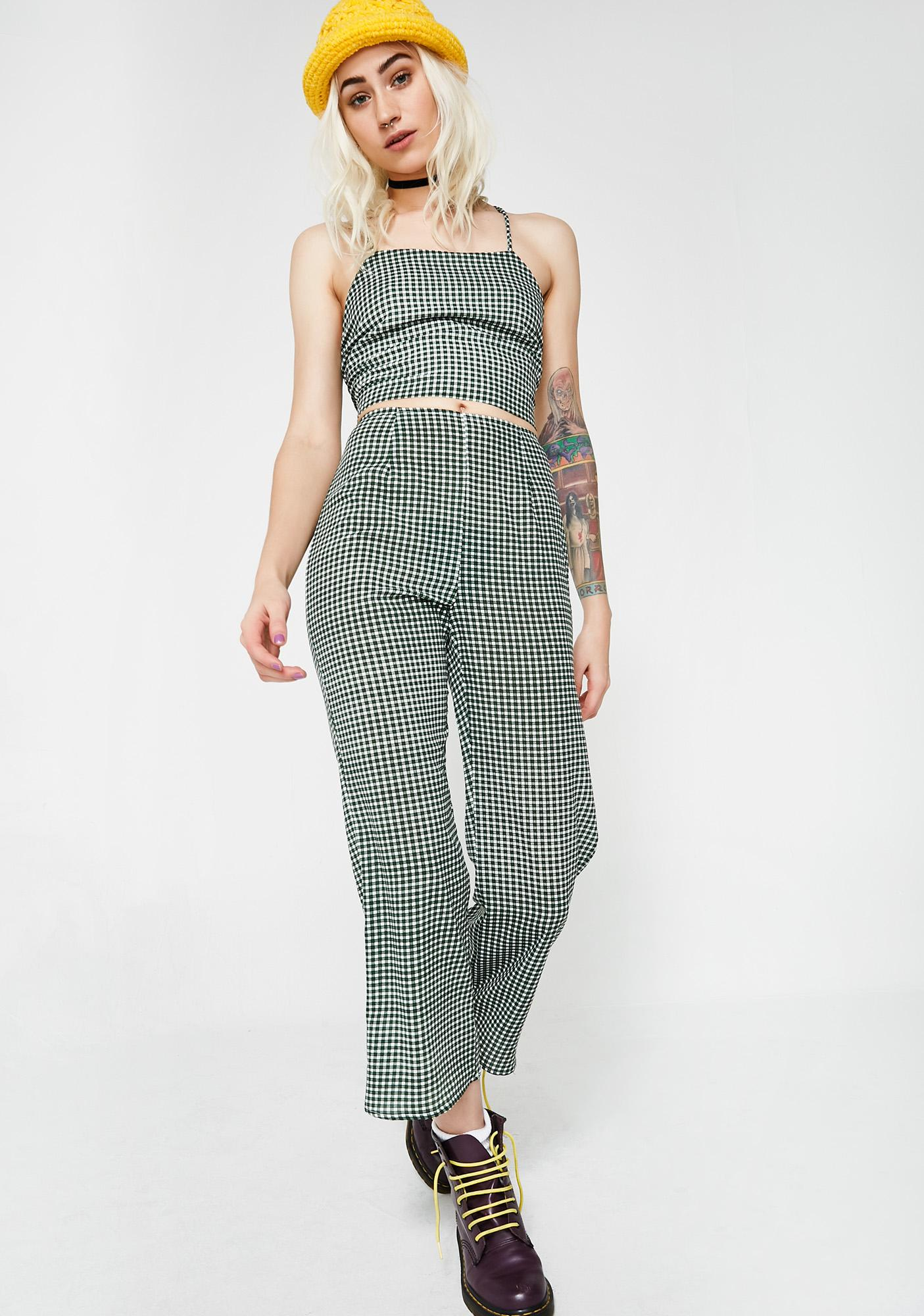 Mary Jane Talkin' Business Plaid Pants