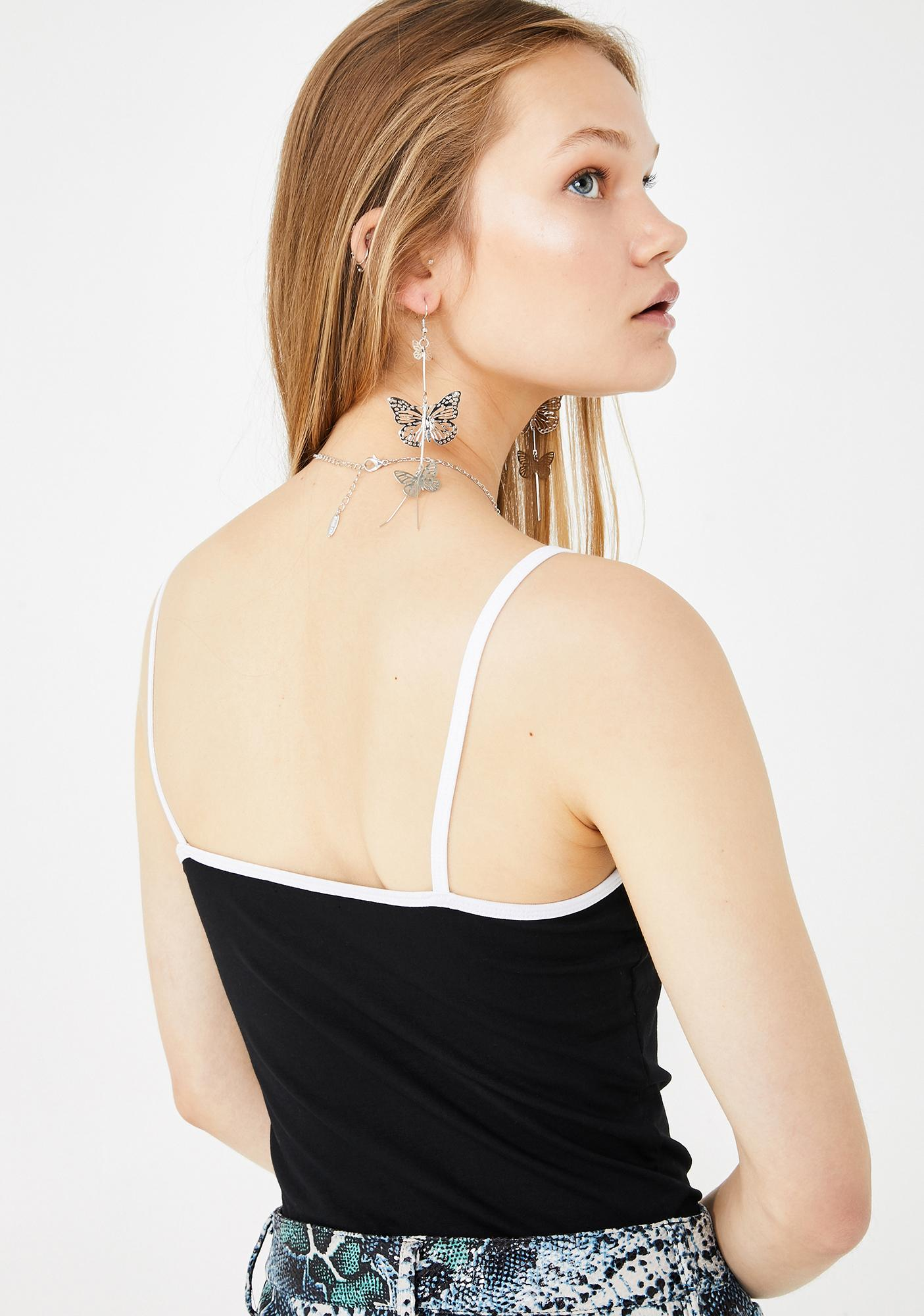 dELiA*s by Dolls Kill Two Faced Graphic Tank