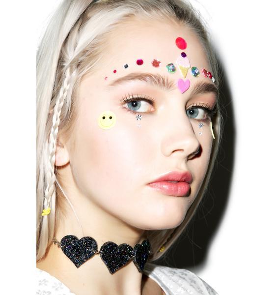 Marina Fini X Dolls Kill Heart Breaker Choker
