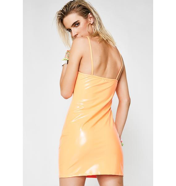 Feelin' Sun Kissed Vinyl Dress
