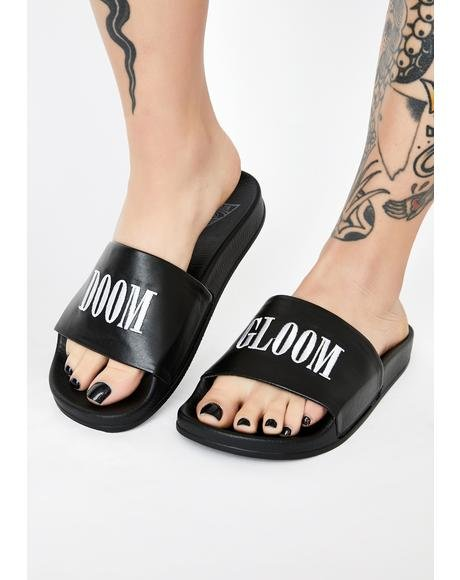 Doom N' Gloom Slide Sandals