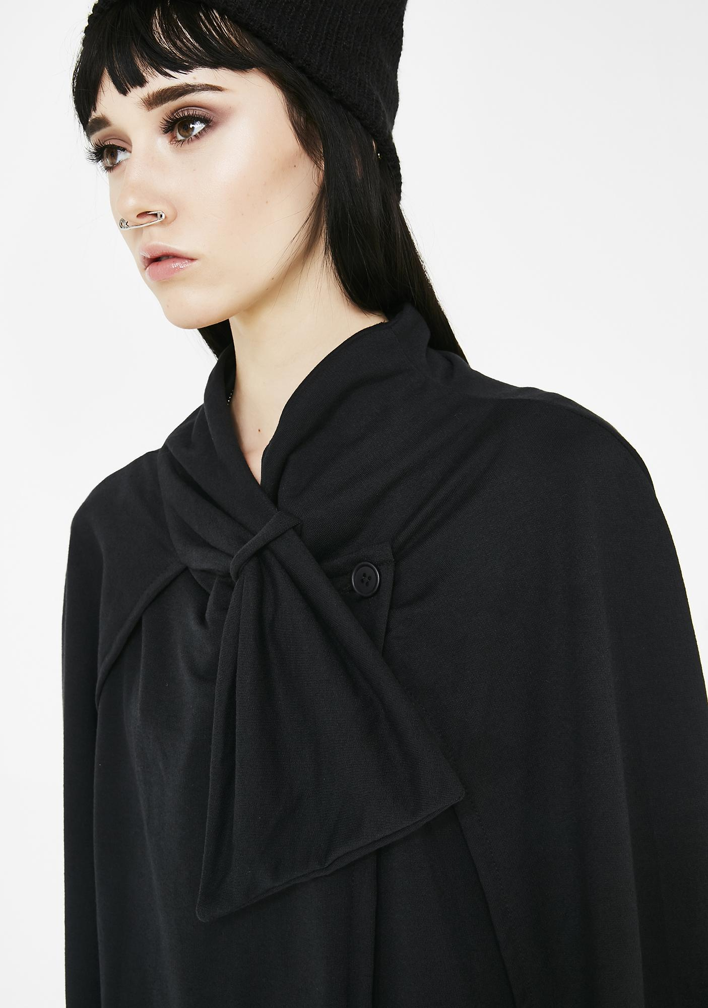 MNML The Reckoning Wide Sleeve Cape