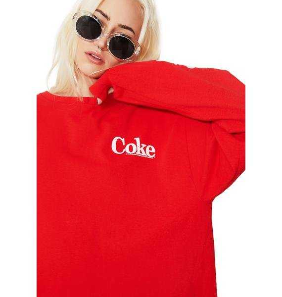 Junk Food Clothing Coke Is It Tee