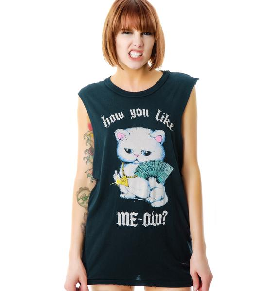 UNIF Like Meow Tee