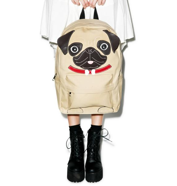 Precious Pug Backpack