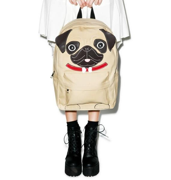 Precious Pug Backpack