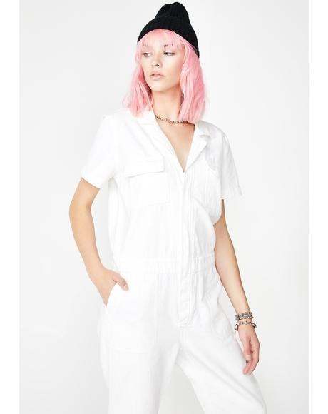 Werkin' Girl Carpenter Jumpsuit