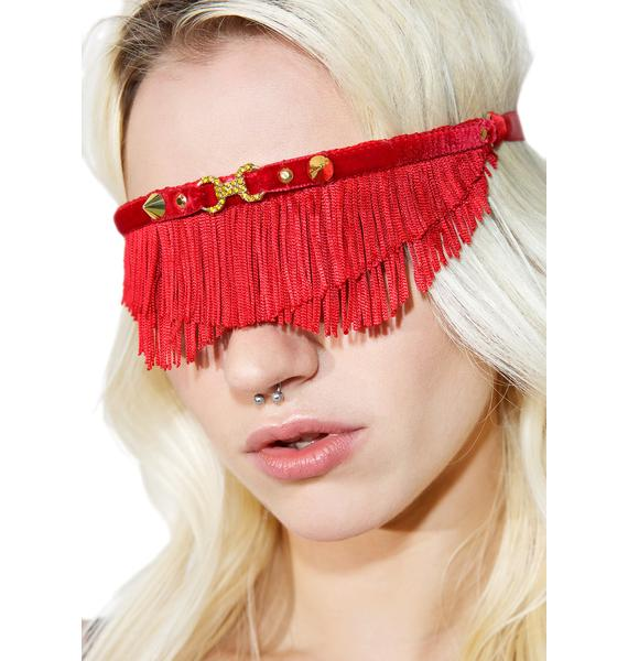 Fraulein Kink Rouge Blindfold