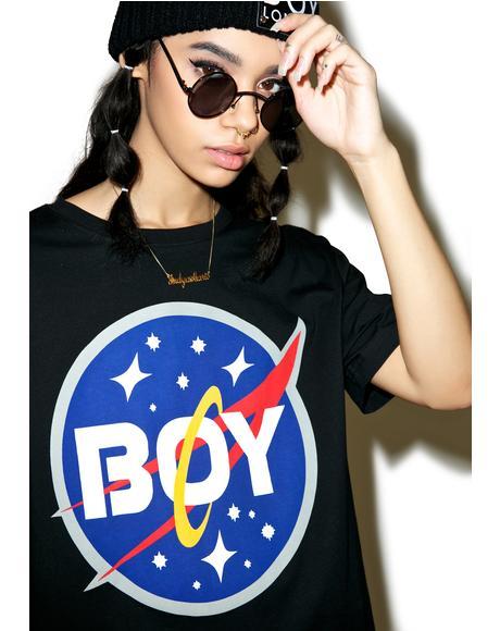 Boy Space Logo Tee