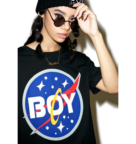 BOY London Boy Space Logo Tee