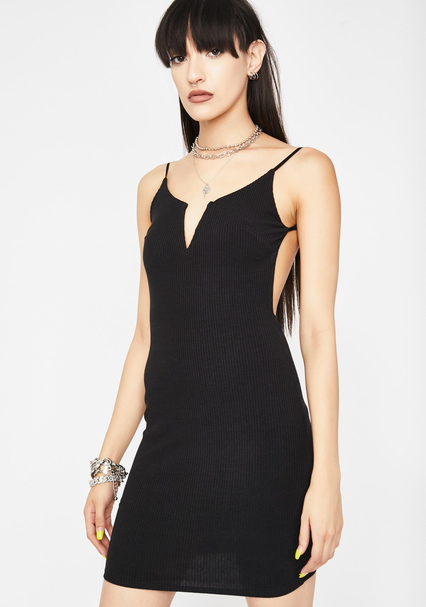Dark Explicit Elite Mini Dress