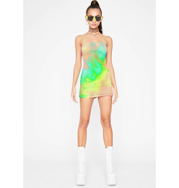 Heat Vision Mini Dress