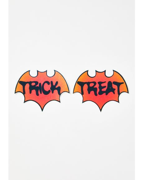 Trick Or Treat Bat Pasties