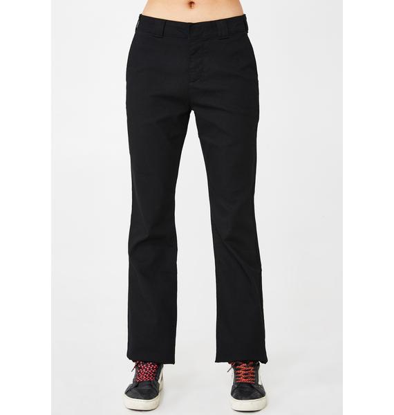 Dickies Girl Boot Cut Trousers