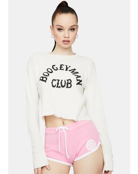 Pink Satan's Girl Booty Shorts