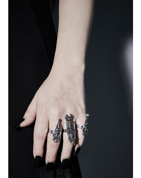 Evoke The Devil Ring Set