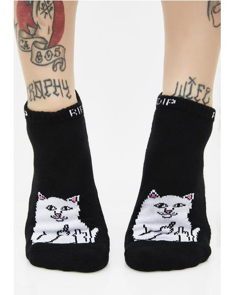 Dark Lord Nermal Ankle Socks