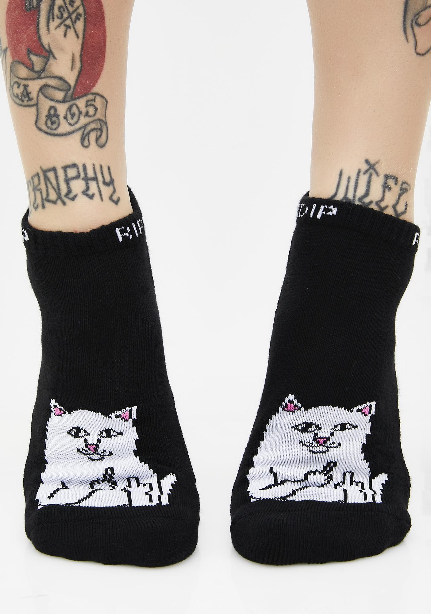 RIPNDIP Dark Lord Nermal Ankle Socks
