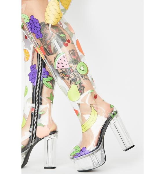 Sugar Thrillz Sugar Spree Thigh High Boots