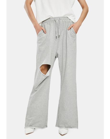 Malix Ripped Sweatpants