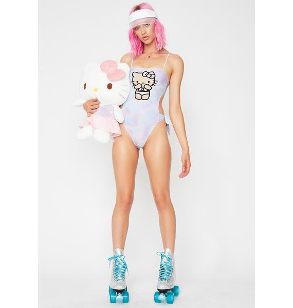 Lolli Swim x Hello Kitty XOXO One Piece Swimsuit