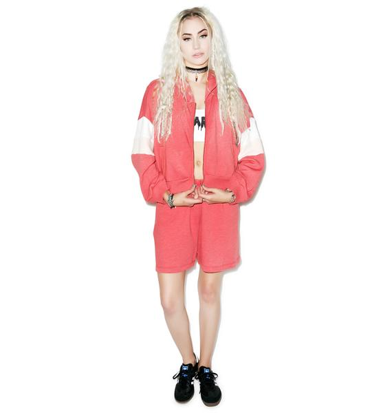 Wildfox Couture Classic Fox Draped Hoodie