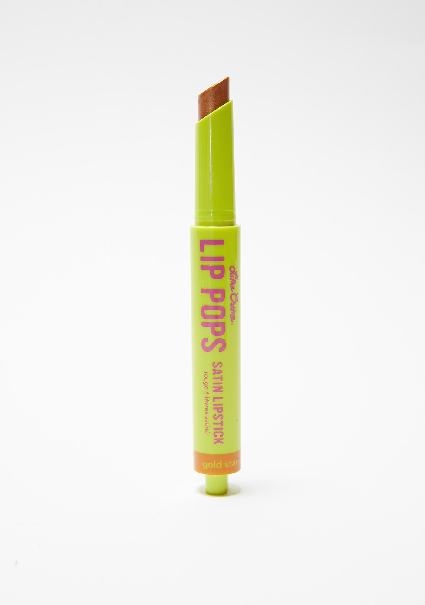 Lime Crime Gold Star Lip Pops Satin Lipstick