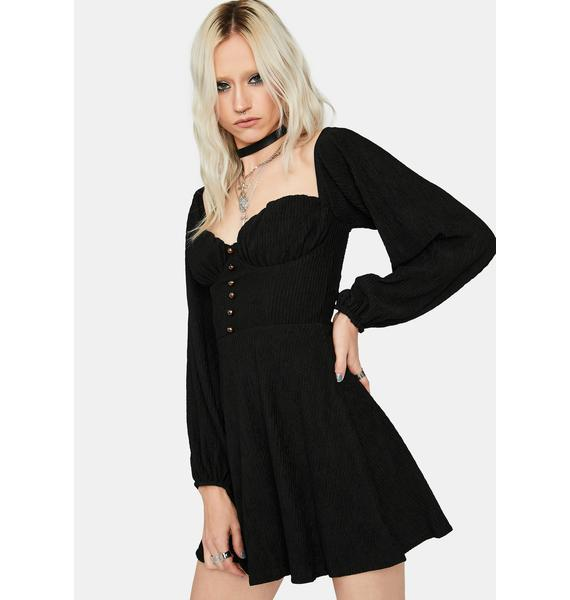 Trust And Believe Ruched Dress