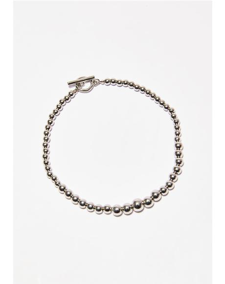 Chained Up Ball Anklet