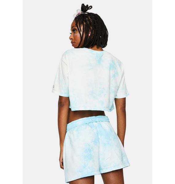 By Samii Ryan Lil Thang Tie Dye Shorts