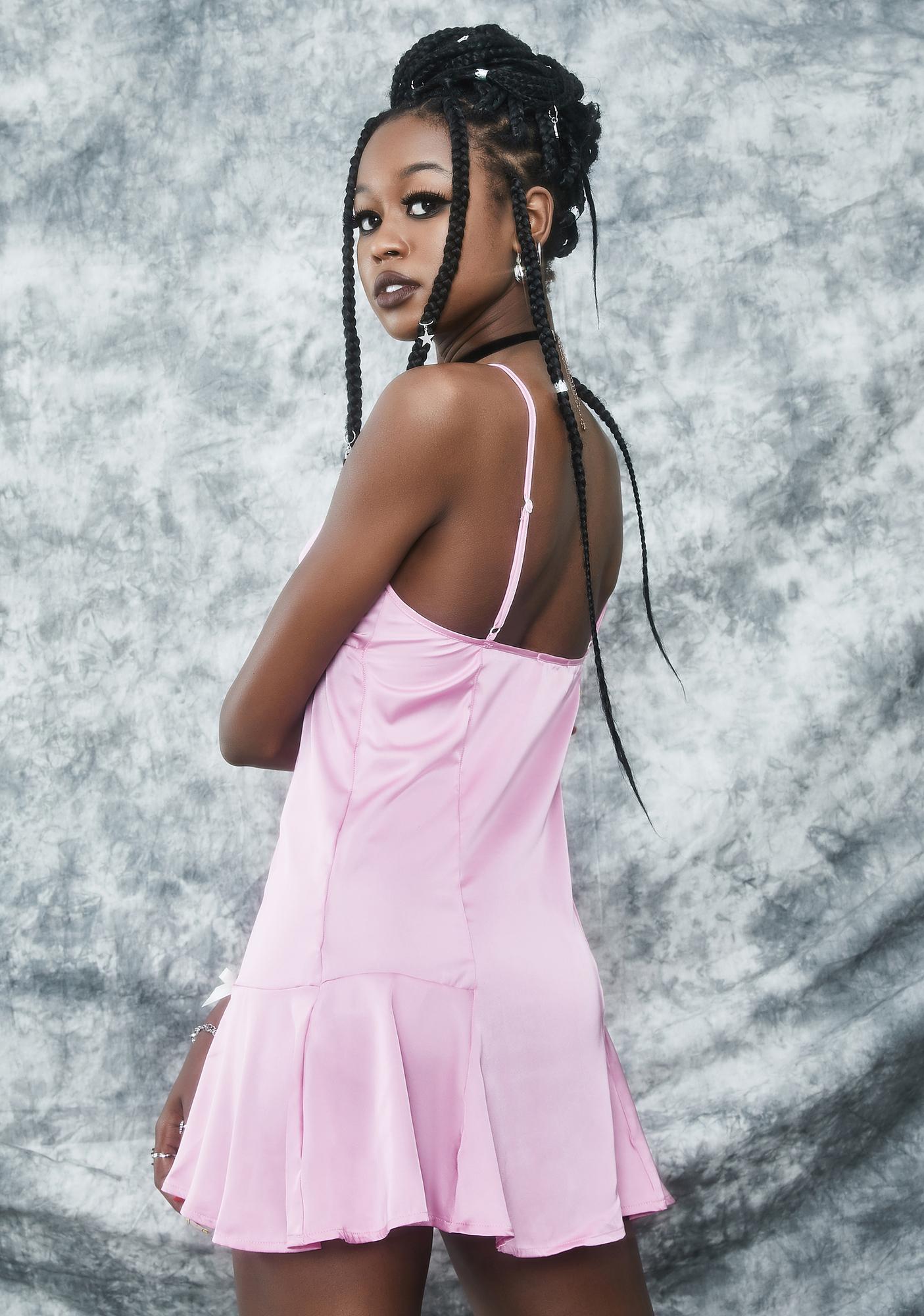 dELiA*s by Dolls Kill Prom Night Prophecy Slip Dress