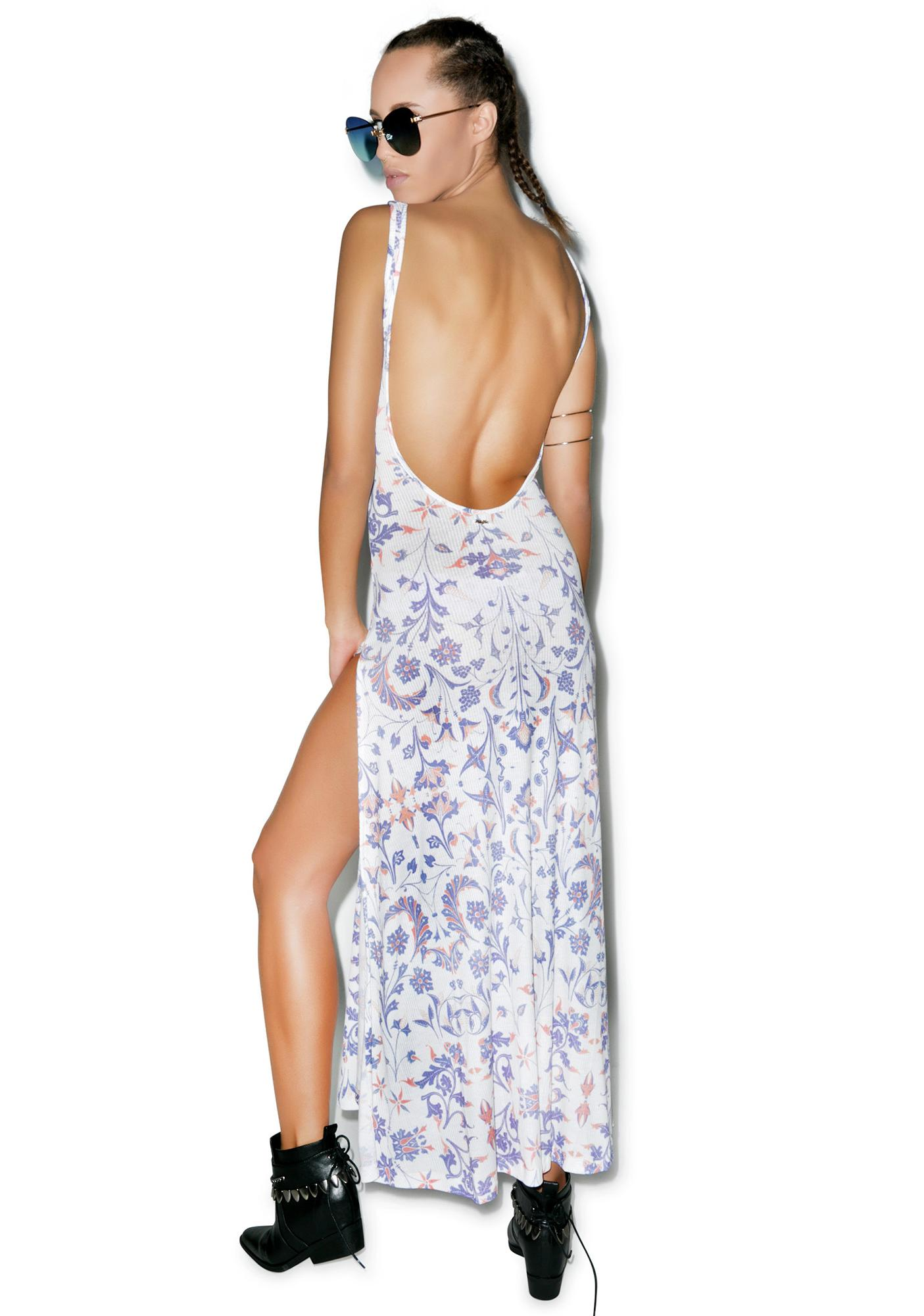 Wildfox Couture American Paisley Maldives Maxi