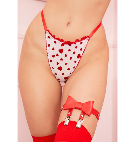 Sugar Thrillz Feelin' Lovesick Thong Panties