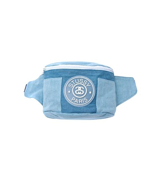 Stussy Denim Fanny Pack