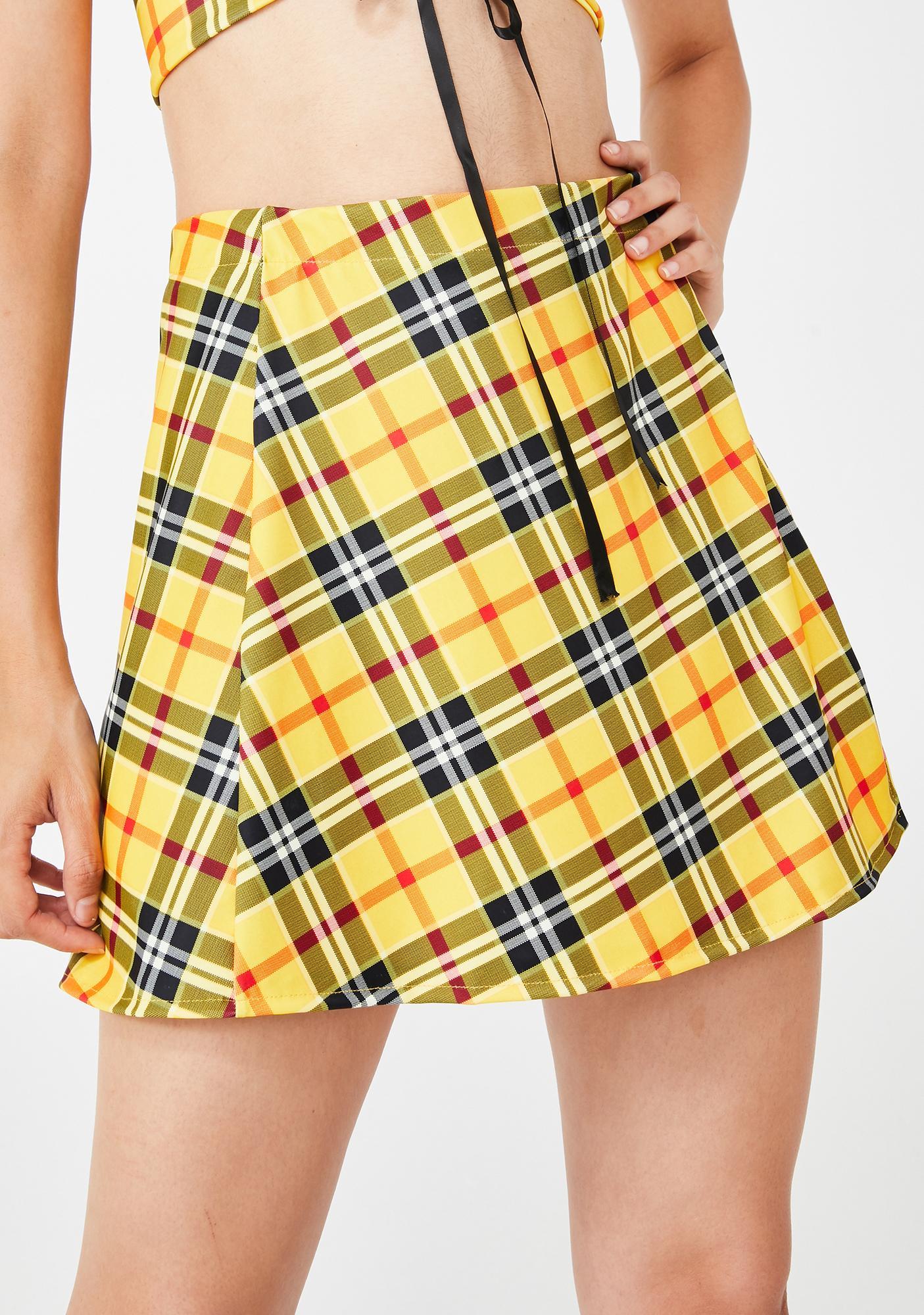 The Volt Cher Mini Skirt