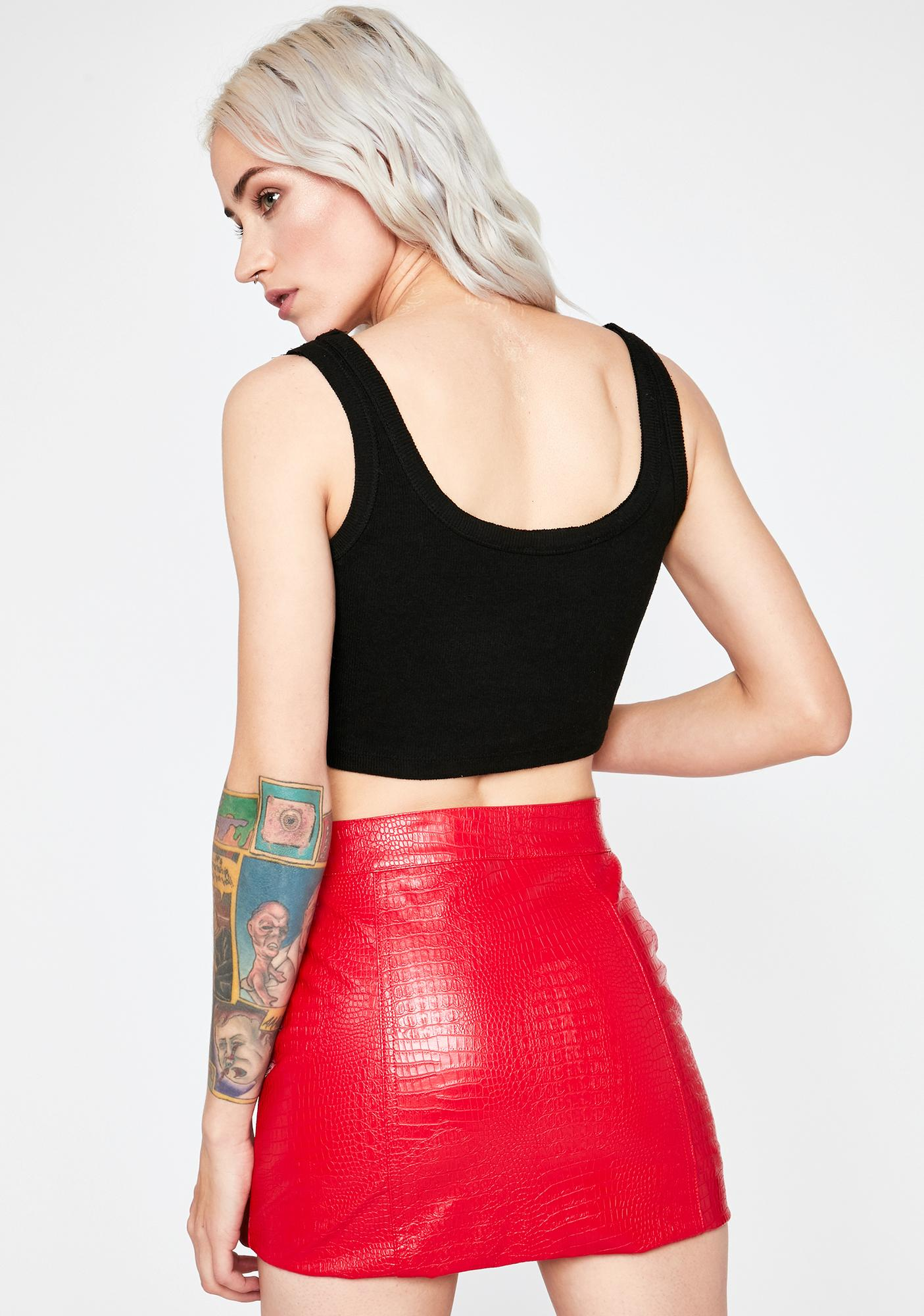Brutal Bloodline Mini Skirt