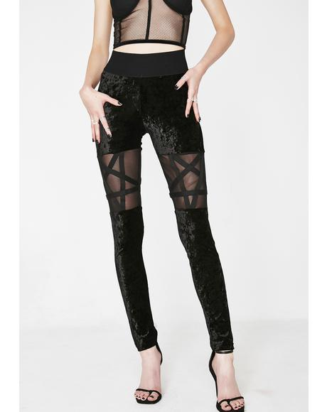 Hellion Velvet Leggings
