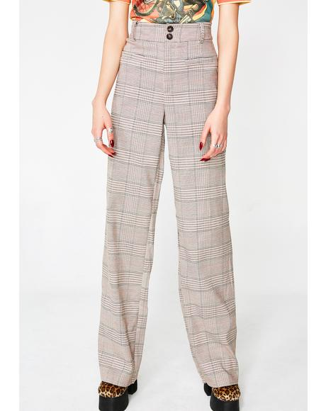 In Session Plaid Pants