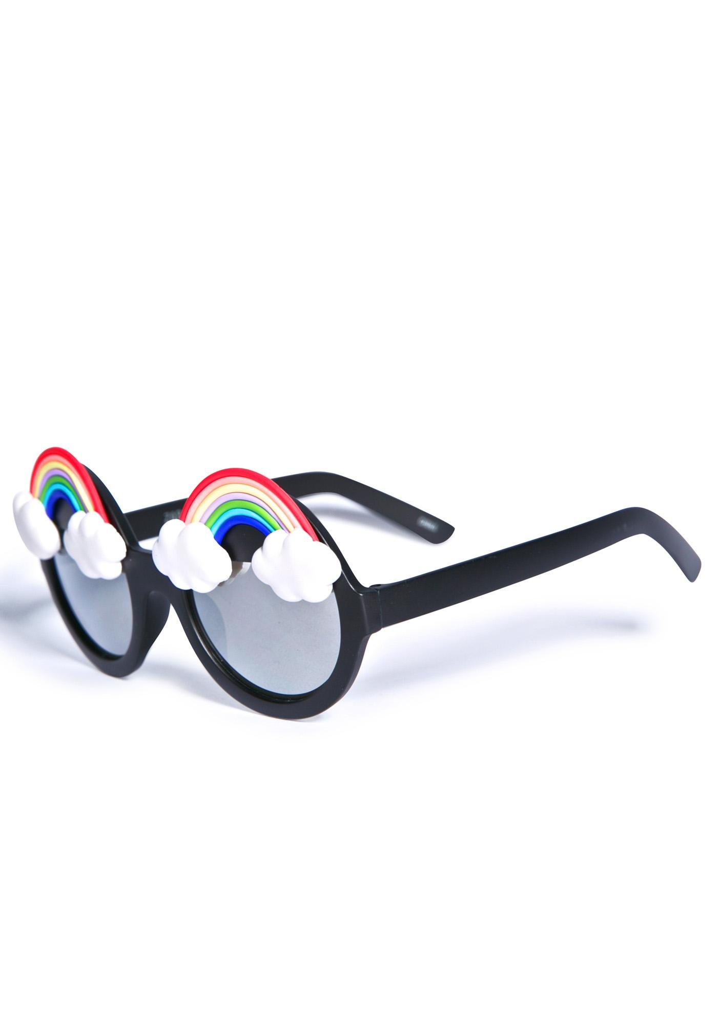 Gasoline Glamour Fantasia Rainbow Wilde Sunglasses