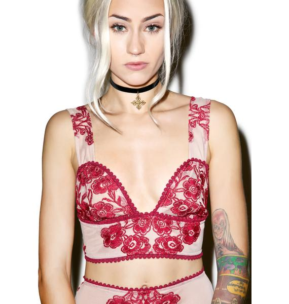 For Love & Lemons Temecula Crop Top