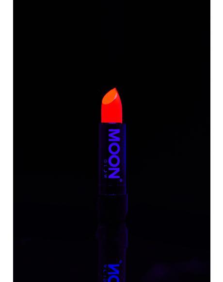 Neon Red UV Lipstick