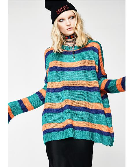 Mind Your Business Slouchy Sweater
