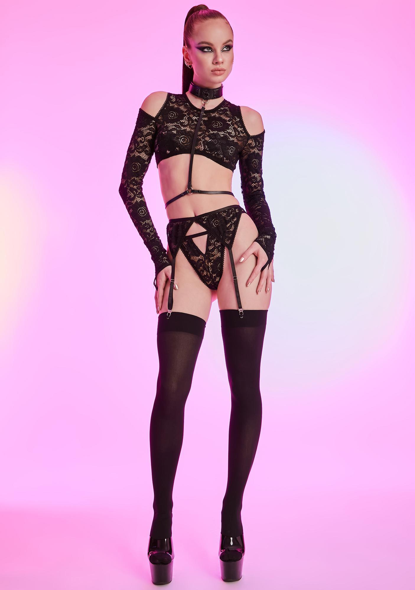 HOROSCOPEZ Secret Life Lace Panty Set