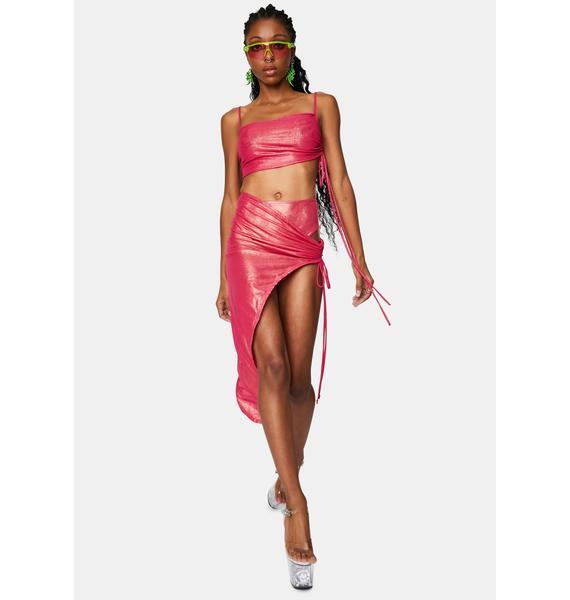 Club Exx Star Ballet 3-Piece Skirt Set
