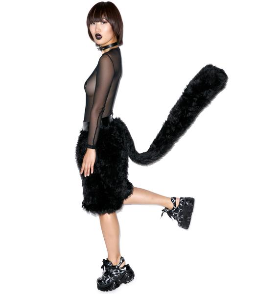 J Valentine Black Cat Board Shorts