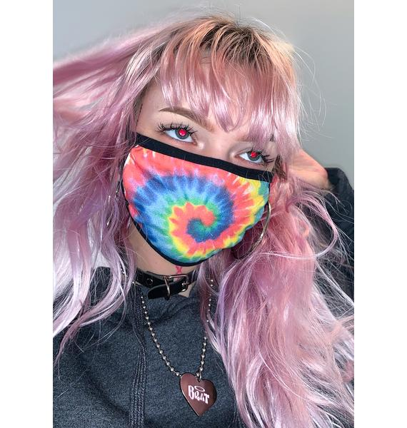 Dolls Kill Hippie Tricks Face Mask