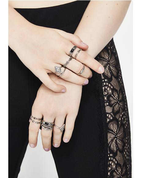 Go With It Layered Ring Set