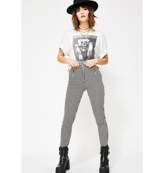 Motel Pinstripe Jolim Trousers